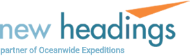 New Headings, Rental Gear Partner of Oceanwide Expeditions